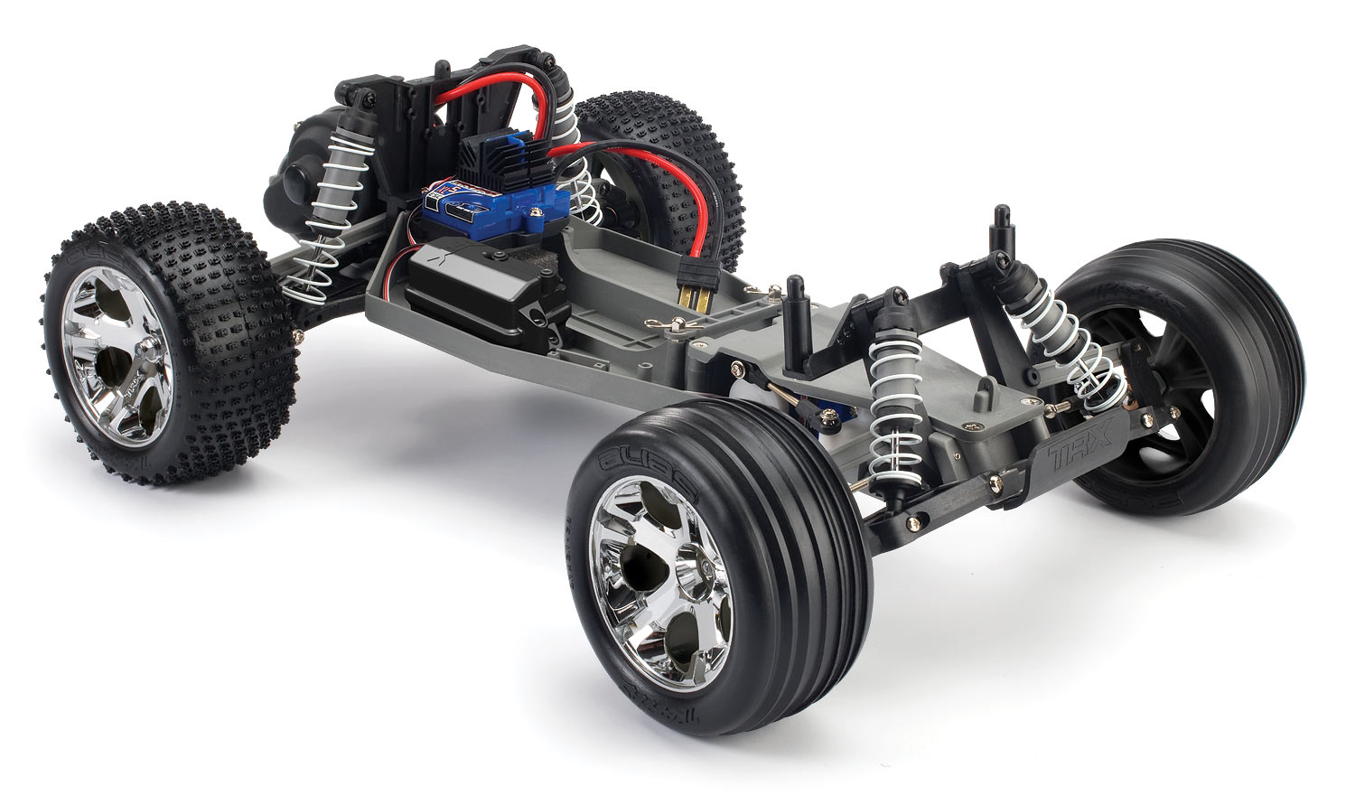 3705_3qrtr chassis the traxxas rustler 1 10 scale 2wd stadium truck xl 5�� rc car Traxxas Jato 3.3 Hop-Ups at crackthecode.co