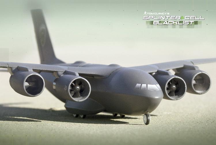 Tom Clancy S Splinter Cell Blacklist Paladin C147 Aircraft