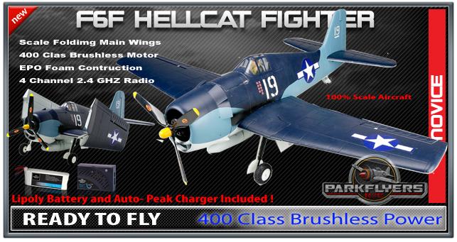 F6f Hellcat Rtf Rc Airplane