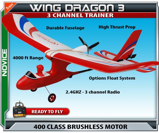 Wing Dragon III - RC Beginner Plane