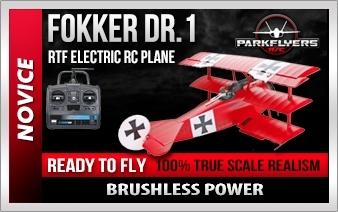 Fokker Rtf Rc Electric Jet Airplane