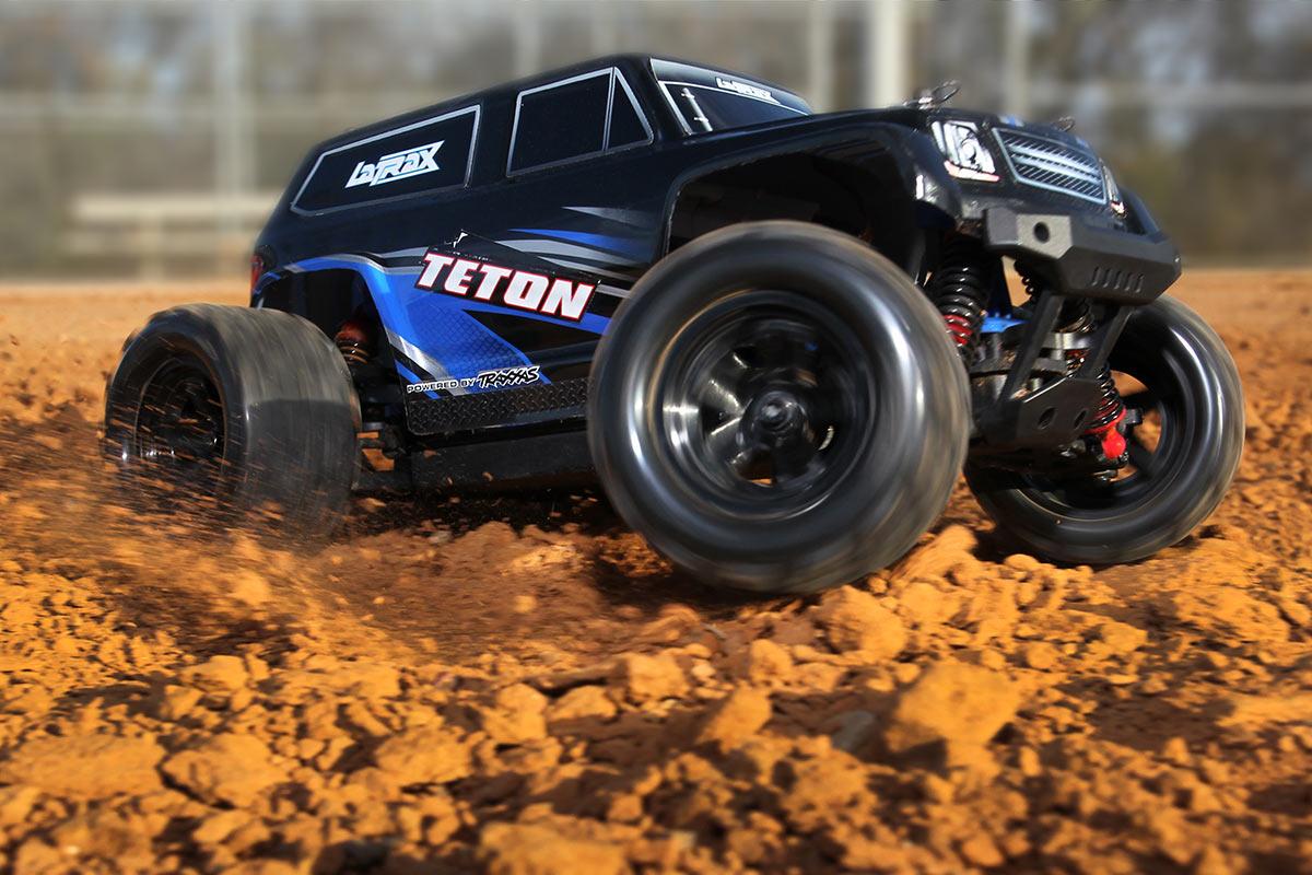 Waterproof Rc 4 Wheel Drive : Latrax teton scale wd monster truck
