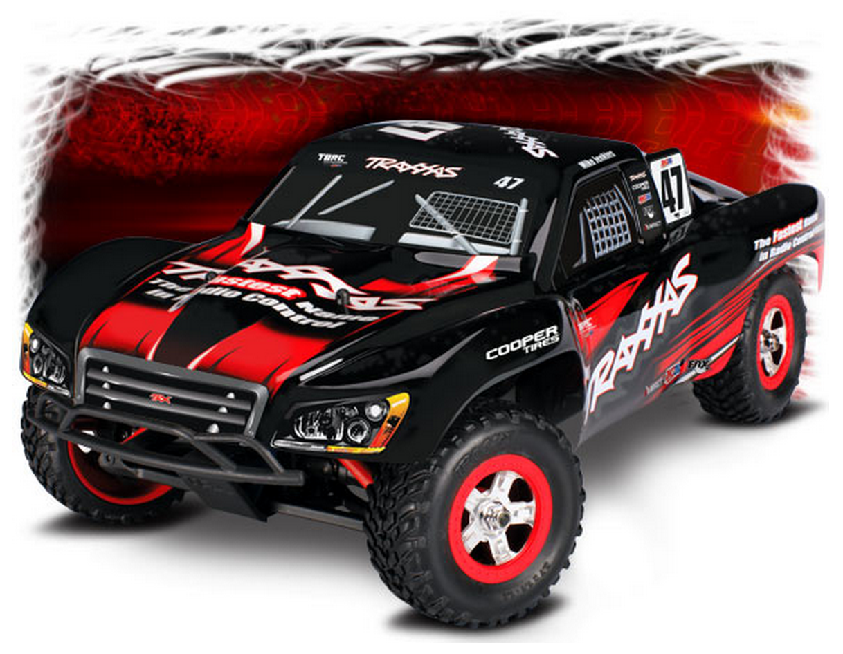 Traxxas 1 16 Slash 4wd Rtr Tq Id Short Course Truck
