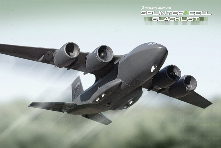 Tom Clancy's Splinter Cell Blacklist Paladin C147B Aircraft Edition (RTF  Aircraft Only, game sold separate)