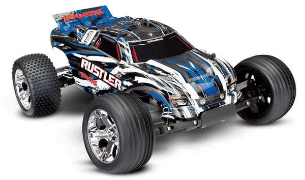 The Traxxas Rustler 1 10 Scale 2WD Stadium Truck XL 5AR RC Car