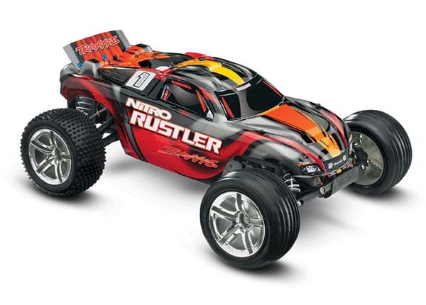 Traxxas Nitro Rustler 1 10 Scale 2WD Stadium Truck