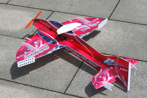 TechOne Mini Apollo - 4-Ch F3P Aerobatic Depron Foam Plane with Brushless  Motor